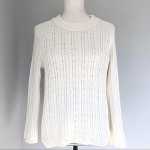Banana Republic beaded crewneck sweater
